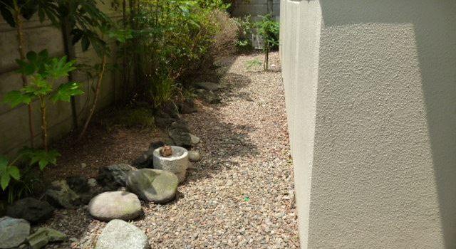 マンション 共用部植込み 植栽剪定作業