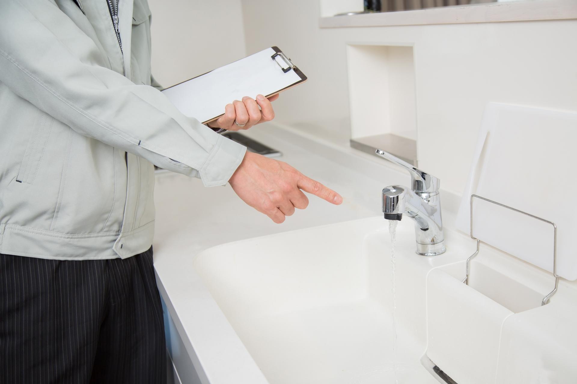 マンション 給水管調査
