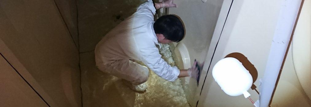 アパート 貯水槽清掃