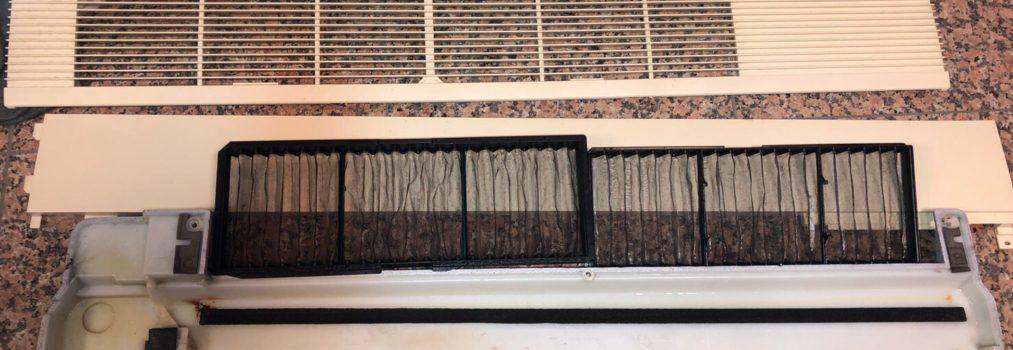 オフィスビル テナント エアコン分解洗浄