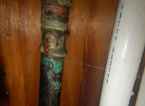 マンション 室内給湯管漏水対応